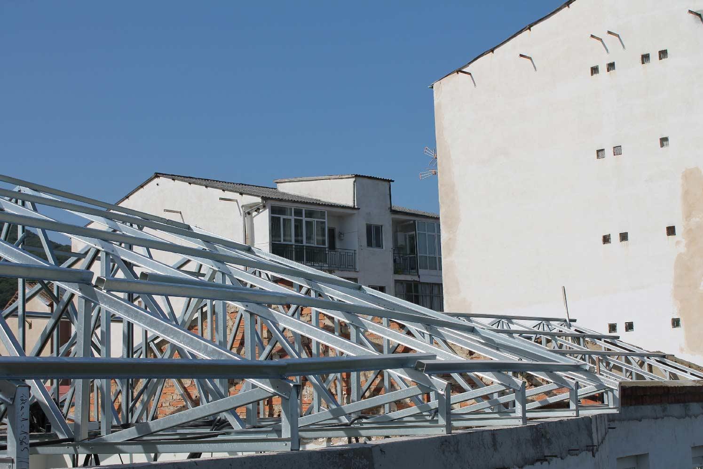 Cubierta de Colegio Salesianas, Béjar