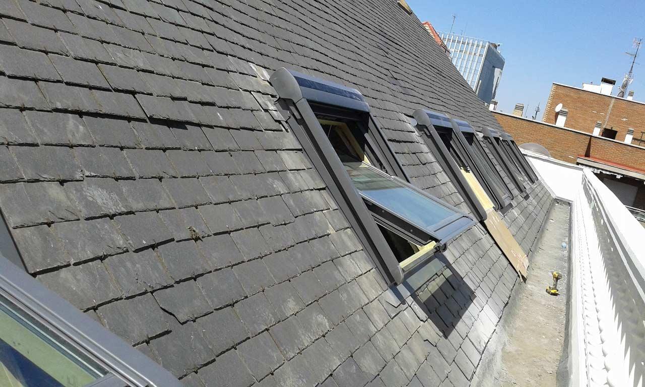 Instalación de ventanas Velux